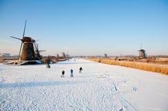 场面滑冰 免版税图库摄影