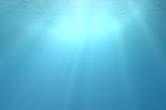 场面热带水中 图库摄影