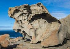 坎加鲁岛,南澳大利亚卓越的岩石  免版税库存图片
