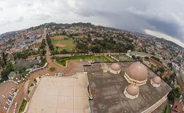 坎帕拉都市风景 图库摄影