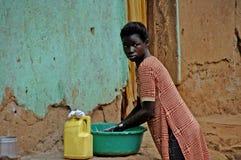 坎帕拉,乌干达11 2017年4月 方式人生活在乌干达 免版税库存图片