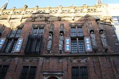 坎彭大教堂在荷兰 免版税库存照片