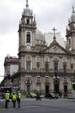 坎德拉里亚角教会在里约热内卢,巴西 免版税库存图片