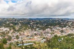 坎波斯做Jordao,巴西 从大象` s小山的看法 库存图片