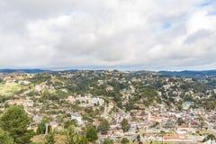 坎波斯做Jordao,巴西 从大象` s小山的看法 免版税库存图片