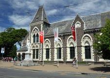 坎特伯雷克赖斯特切奇博物馆新西兰 库存照片