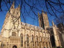 坎特伯雷大教堂,肯特,英国 库存照片