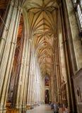 坎特伯雷大教堂,肯特,英国 免版税库存照片