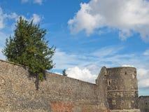 坎特伯雷市墙壁 库存照片