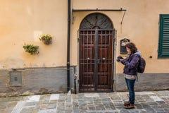 坎皮利亚马里蒂马,利佛诺省,托斯卡纳,意大利 图库摄影