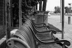 坎顿公共汽车站 免版税库存照片