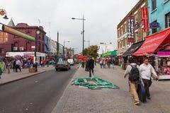坎登市场,伦敦 库存照片