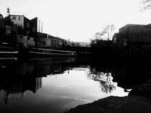 坎登运河 免版税图库摄影