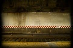 坏的地铁 免版税图库摄影