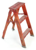坏的梯子短小 图库摄影