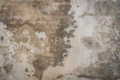 坏的混凝土墙 免版税库存照片