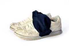 坏的袜子 免版税库存图片