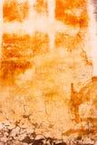 坏的被绘的墙壁 免版税库存图片