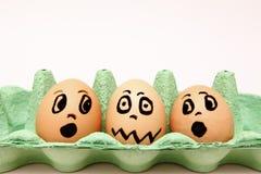 坏鸡蛋 免版税库存图片