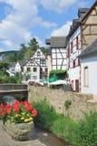 坏Muenstereifel,埃菲尔山,德国 免版税图库摄影