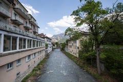 坏ragaz瑞士人 免版税库存照片