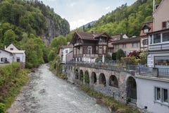 坏ragaz瑞士人 免版税库存图片