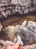 坐下在马耳他 免版税图库摄影