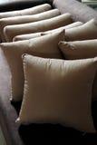坐垫枕头 免版税库存照片