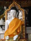 坐泰国的菩萨 库存图片
