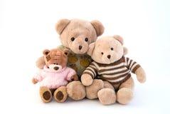 坐玩具的熊 免版税图库摄影