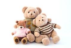 坐玩具的熊 免版税库存照片