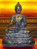 坐的菩萨的图象 免版税库存照片
