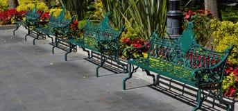 坐的长凳 免版税库存照片