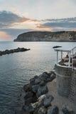 坐骨海岛有santangelo视图 图库摄影
