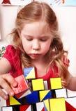 块儿童游戏空间 免版税库存照片