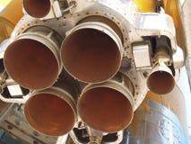 块喷管火箭 免版税库存图片