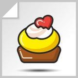 结块松饼甜点icons_10 库存照片