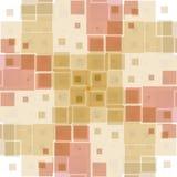 块模式粉红色纹理 库存例证