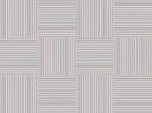 块灰色正方形的小条和对比红色绯红色轻的几何稀薄的线 免版税库存图片