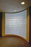 块玻璃办公室墙壁 免版税库存图片