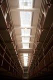 块电池房子监狱 免版税库存图片