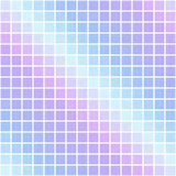 块的传染媒介几何抽象无缝的样式 库存图片