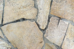 块路面在地板上的正方形石头 库存图片