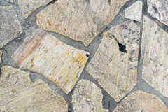 块路面在地板上的正方形石头 库存照片