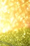 块金闪耀的地毯 特写镜头视图,非常浅深深领域 宏指令 免版税库存照片