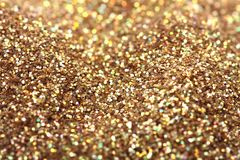 块金闪耀的地毯 特写镜头视图,非常 免版税图库摄影