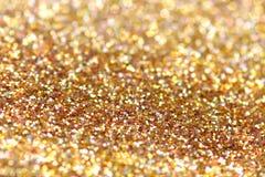块金闪耀的地毯 特写镜头视图,非常 库存图片
