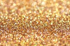 块金闪耀的地毯 特写镜头视图,非常 库存照片