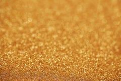 块金闪耀的地毯 特写镜头视图,非常 免版税库存照片