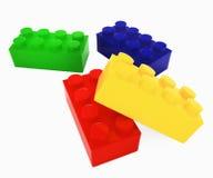 块颜色lego 皇族释放例证